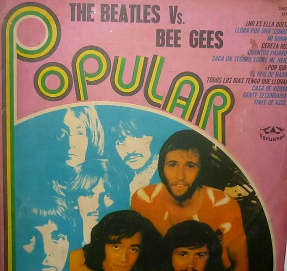 Bee Gees vs Beatles LP I - Argentina