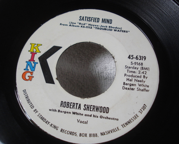 A Satisfied Mind 45 - Roberta Sherwood