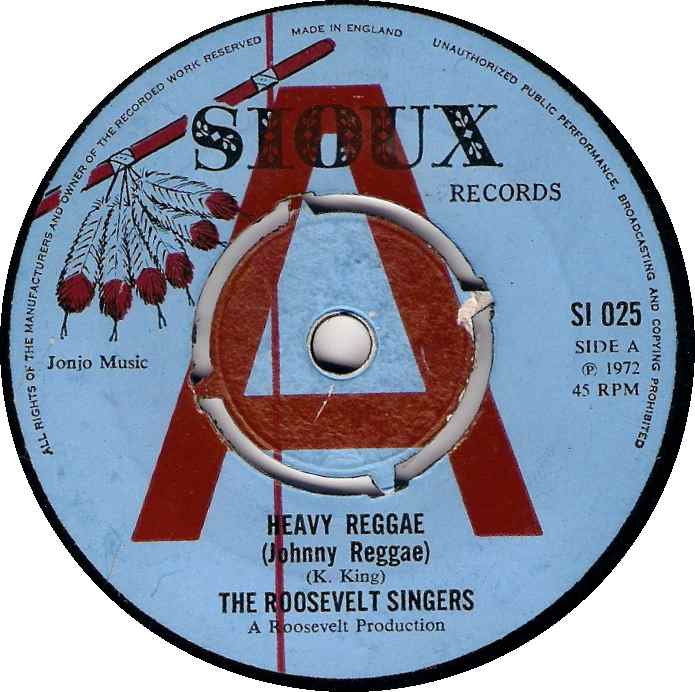 Heavy Reggae - The Roosevelt Singers