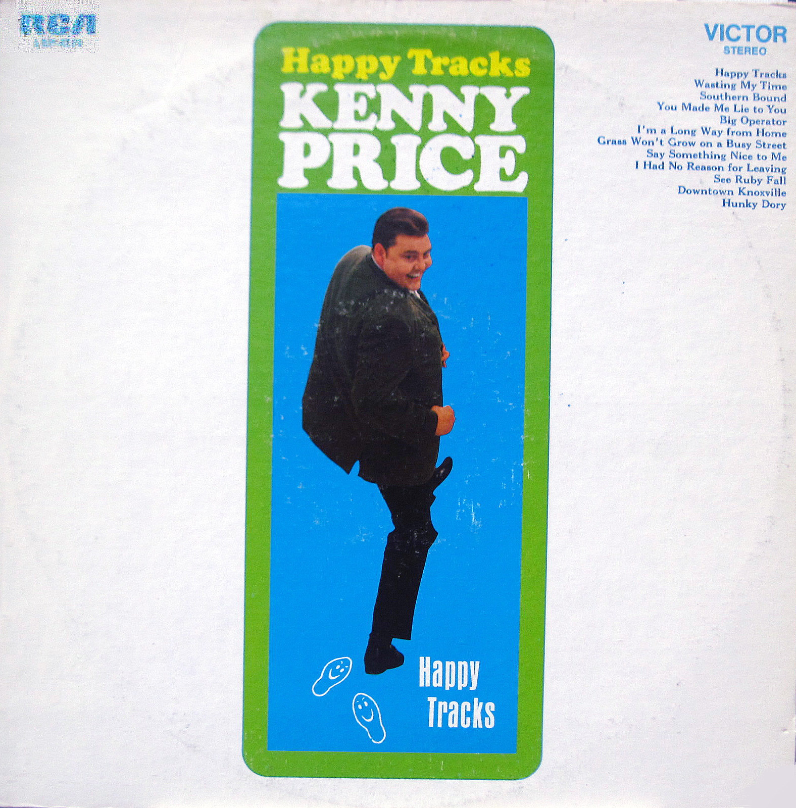 Kenny Price - Happy Tracks