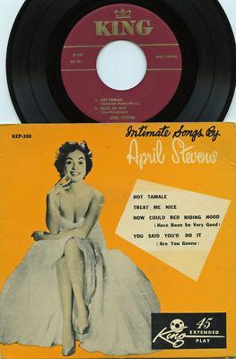 April Stevens - 1953 King EP