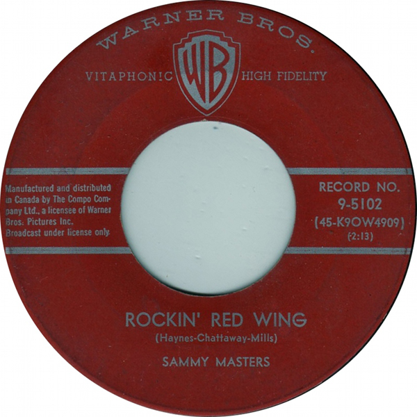 Rockin Red Wing - Sammy Masters 45