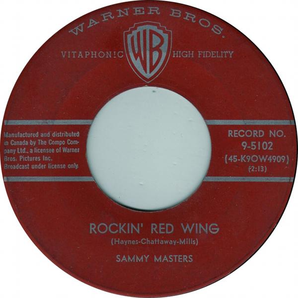 Rockin Red Wing - Sammy Masters 45
