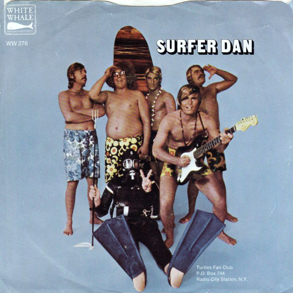 Surfer Dan 45 picture sleeve
