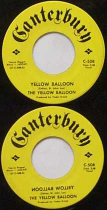 Yellow Balloon - 45