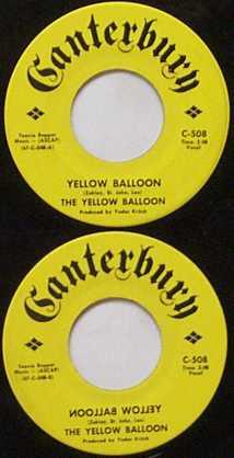 Yellow Balloon - 45