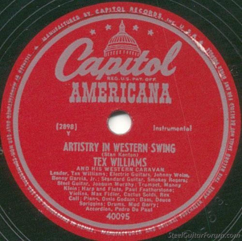 Artistry in Western Swing 78