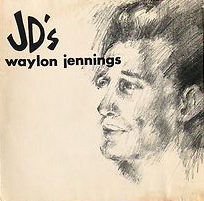 At JD's - Waylon Jennings LP