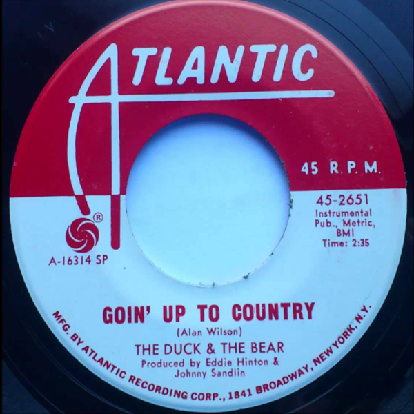 Goin' Up to Country - The Duck & the Bear 45