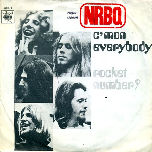 NRBQ CBS 45 picture sleeve