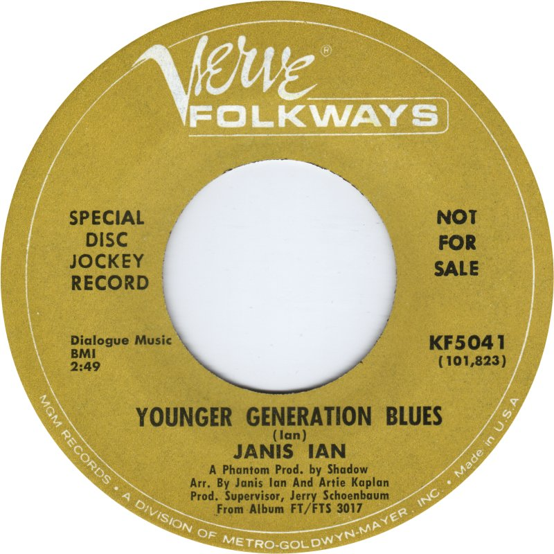 Younger Generation Blues 45
