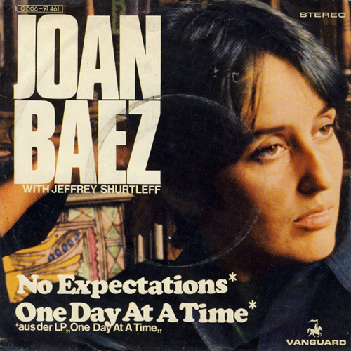 Joan Baez 45 Picture Sleeve