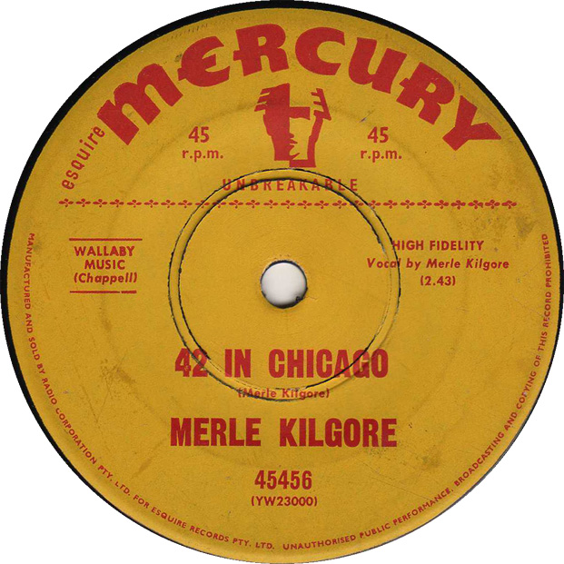42 in Chicago - Merle Kilgore 45