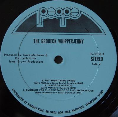 Grodeck Whipperjenny LP