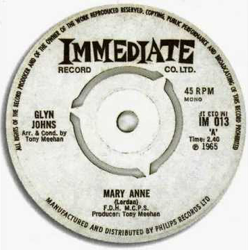 Mary Anne - Glyn Johns 45