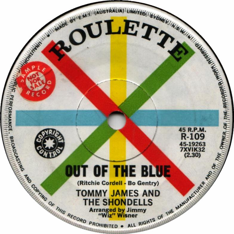 Out of the Blue - Tommy James 45
