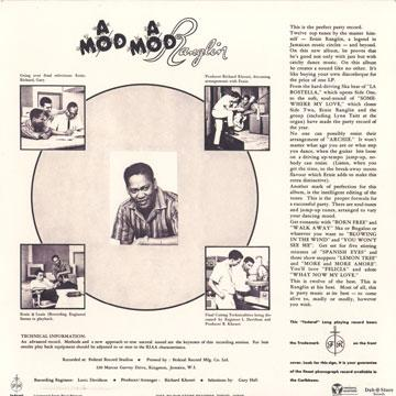 A Mod A Mod Ranglin - back cover