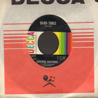Hard Times 45 on Decca