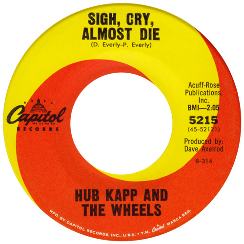 Hub Kapp & Wheels 45