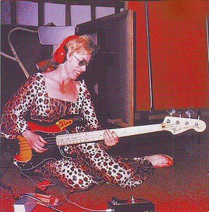 Carol Kaye on bass