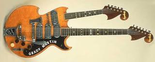 Grady Martin doubleneck guitar