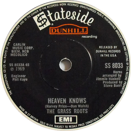 Heaven Knows 45