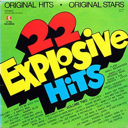 K-Tel's 22 Explosive Hits