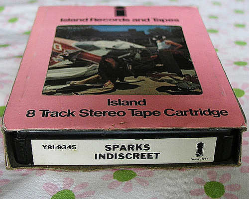 Sparks Indiscreet 8-track