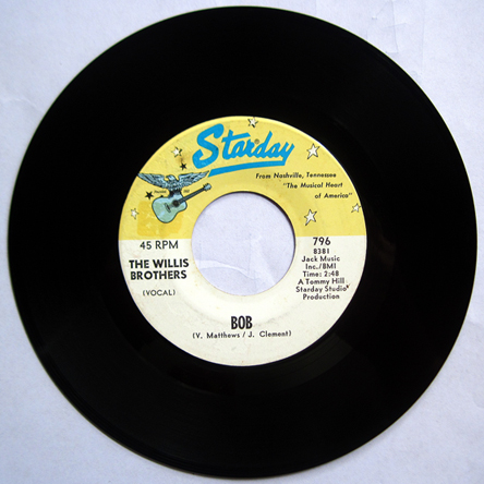 Bob - Willis Brothers 45