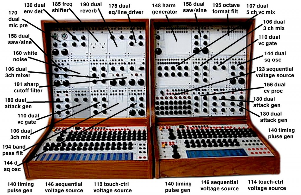 Buchla Modules - Series 100