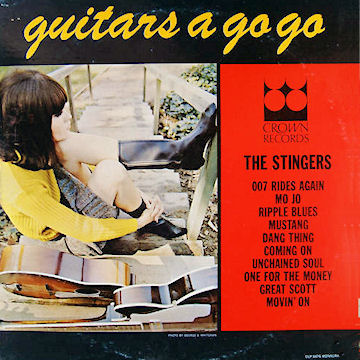 Jerry Cole & Stingers, The - Guitars A Go-Go !