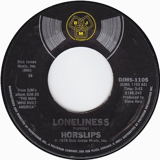 Loneliness - Horslips 45