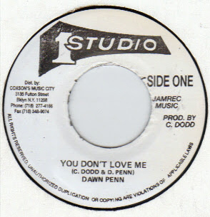 You Don't Love Me 45