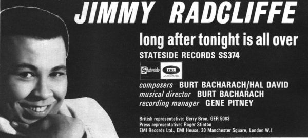Jimmy Radcliffe Promo Ad