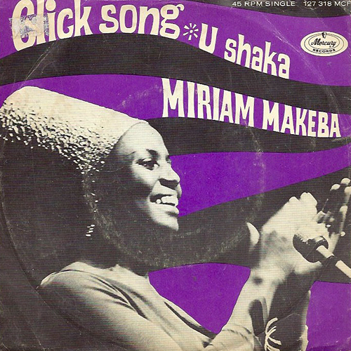 Miriam Makeba 45 picture sleeve IIIa