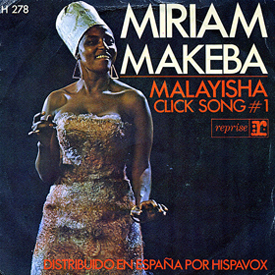 Miriam Makeba 45 picture sleeve IIa