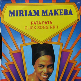 Miriam Makeba 45 picture sleeve Ia