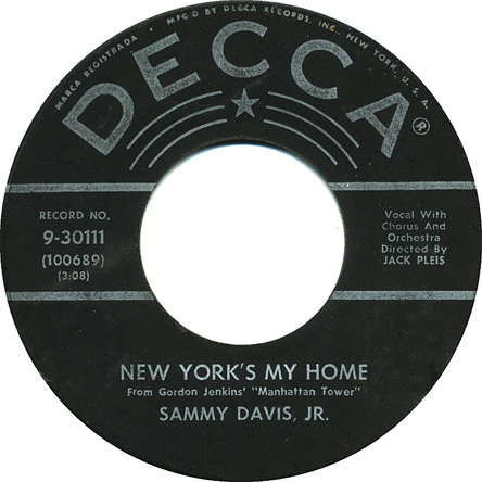 Sammy Davis 45