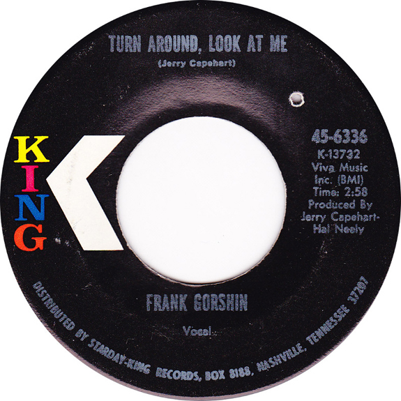 Frank Gorshin's King 45