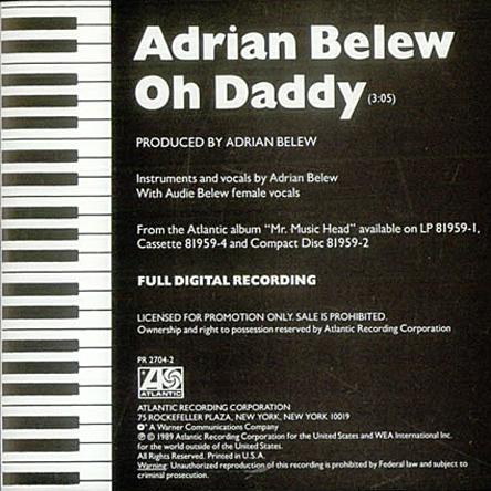 Adrian Belew single