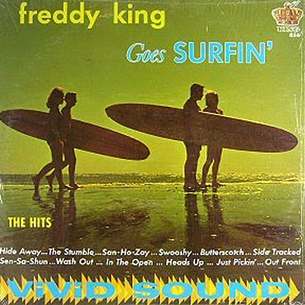 Freddy King surf LP
