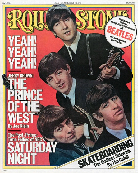 Rolling Stone - Fab Four 76