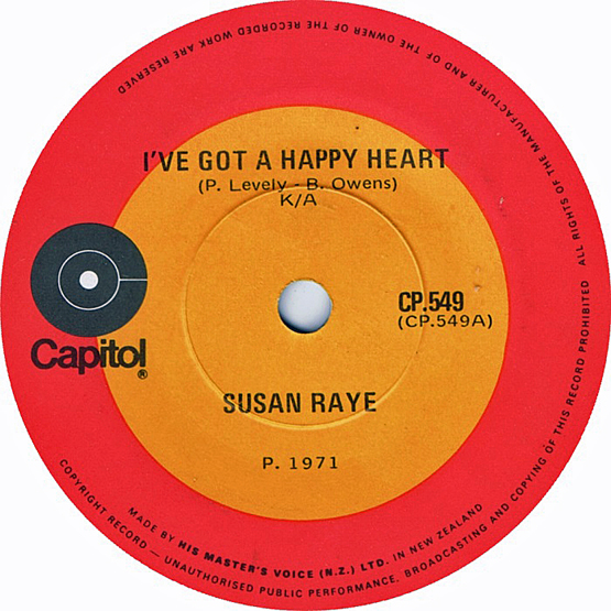 Susan Raye 45