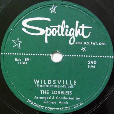Wildsville 78 rpm