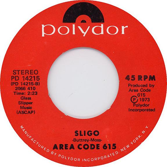 Area Code 615 single