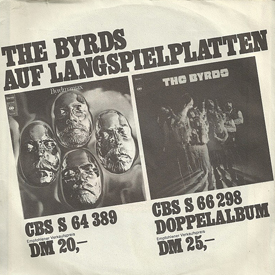 Byrds German 45-b