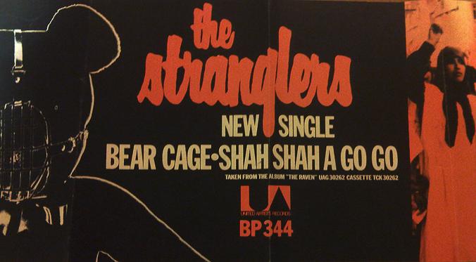 Stranglers promo - Bear Cage