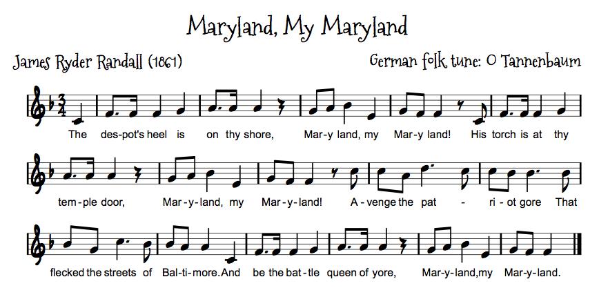 Maryland Oh Maryland