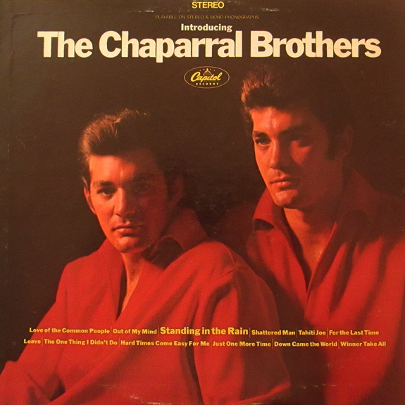 Chaparral Brothers - front cover
