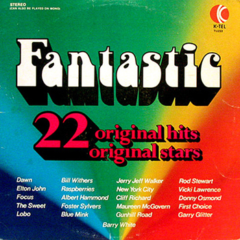 K-Tel's Fantastic 22 Original Hits LP